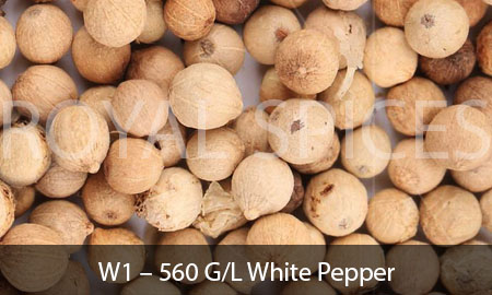 W1 – 560 G/L White Pepper